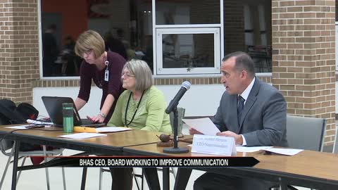 BHAS CEO and school board working to improve communication